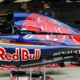 An Engine Cover for the Scuderia Toro Rosso STR10