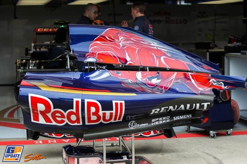An Engine Cover for the Scuderia Toro Rosso STR10