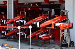 Front Wings for the Scuderia Ferrari SF15-T
