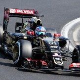 Jolyon Palmer, Lotus F1 Team, E23 Hybrid