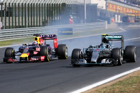 Standings Hungarian Grand Prix of 2015