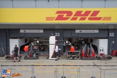 The Pitbox for McLaren Honda