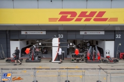 The Pitbox for McLaren Honda