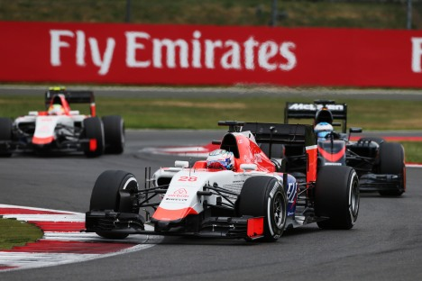 Standings British Grand Prix of 2015