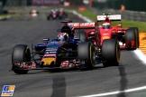Max Verstappen (Scuderia Toro Rosso, STR10) and Kimi Räikkönen (Scuderia Ferrari, SF15-T)
