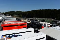 The Formula 1 Paddock