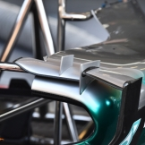 A Detail of the Mercedes AMG F1 Team F1 W06 Hybrid