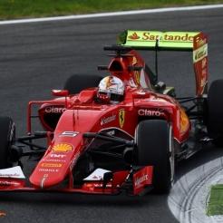 Sebastian Vettel, Scuderia Ferrari, SF15-T