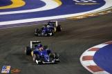 Felipe Nasr and Marcus Ericsson, Sauber F1 Team, C34