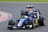 Marcus Ericsson and Felipe Nasr, Sauber F1 Team, C34