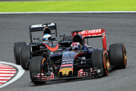 Standings Japanese Grand Prix of 2015