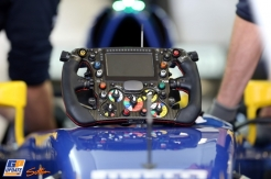 A Steering Wheel for the Sauber F1 Team C34