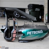 Body Work for the Mercedes AMG F1 Team, F1 W06 Hybrid