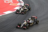 Pastor Maldonado and Romain Grosjean, Lotus F1 Team, E23 Hybrid