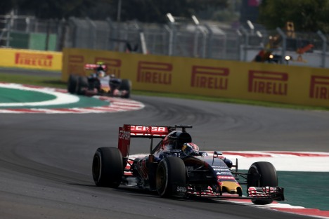 Standings Mexican Grand Prix of 2015