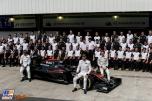 Team Photo for McLaren Honda