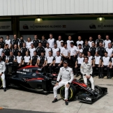 Team Photo for McLaren Honda