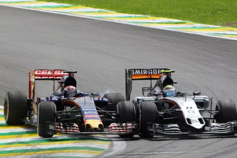 Standings Brazilian Grand Prix of 2015