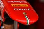 Detail of the Scuderia Ferrari SF15-T