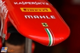 Detail of the Scuderia Ferrari SF15-T