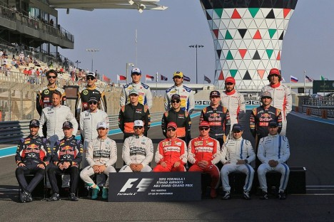 Statistics Abu Dhabi Grand Prix of 2015