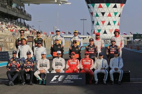 Statistics Abu Dhabi Grand Prix of 2015