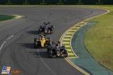 Carlos Sainz Jr. (Scuderia Toro Rosso, STR11), Jolyon Palmer (Renault F1 Team, RS16) and Max Verstappen (Scuderia Toro Rosso, STR11)