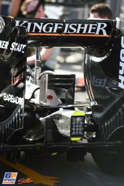A Detail of the Force India F1 Team VJM09