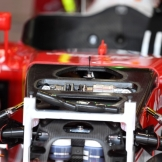 A Detail of the Scuderia Ferrari SF16-H