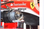 A Detail of the Scuderia Ferrari SF16-H