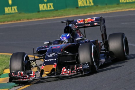 Standings Australian Grand Prix of 2016