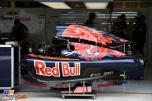 An Engine Cover for the Scuderia Toro Rosso STR11