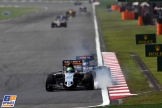 Nico Hülkenberg (Force India F1 Team, VJM09) and Max Verstappen (Scuderia Toro Rosso, STR11)