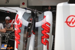 Body Work for the Haas F1 Team VF06