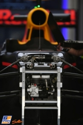 Detail of the Red Bull Racing RB12