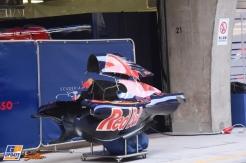Engine Cover for the Scuderia Toro Rosso STR11