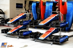 Front Wings and Body Work for the Manor Racing Team MRT05