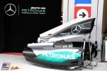 Body Work for the Mercedes AMG F1 Team F1 W07 Hybrid