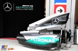 Body Work for the Mercedes AMG F1 Team F1 W07 Hybrid