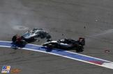 Esteban Gutiérrez (Haas F1 Team, VF16) and Nico Hülkenberg (Force India F1 Team, VJM09)
