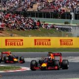 Daniel Ricciardo and Max Verstappen, Red Bull Racing, RB12