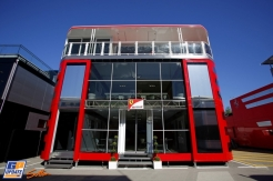 The Motorhome for Scuderia Ferrari