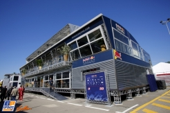 The Motorhome for Red Bull Racing