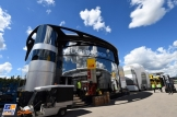 The Motorhome for McLaren Honda