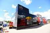 The Motorhome for Mercedes AMG F1 Team