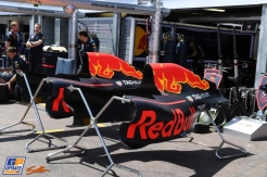 Body Work for the Red Bull Racing RB12