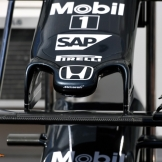 Detail of the McLaren Honda MP4-31