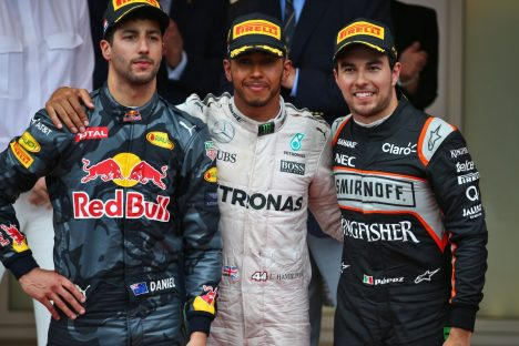 Standings Monaco Grand Prix of 2016