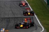 Max Verstappen (Red Bull Racing, RB12), Daniel Ricciardo (Red Bull Racing, RB12) and Sebastian Vettel (Scuderia Ferrari, SF16-H)