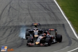 Carlos Sainz Jr. and Daniil Kvyat, Suderia Toro Rosso, STR11